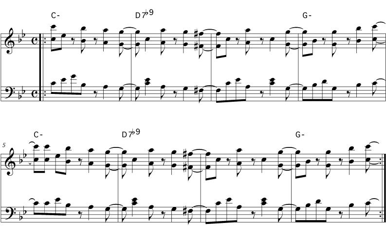 Dong Yi Piano Sheet Music