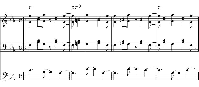 Two Common Salsa Chord Progressions Playmontuno